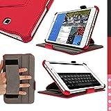 "iGadgitz U2962 funda para tablet - fundas para tablets (Folio, Rojo, Polipiel, Samsung, Galaxy Tab 4 7"" SM-T230 Wifi & SM-T235 3G LTE)"