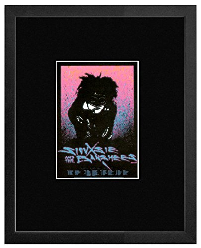 1986 Poster (Stick It On Your Wall Siouxsie and The Banshees-Mehrere wettkampfstätten 1986gerahmtes Mini Poster-20x 18cm)