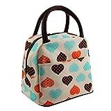 Baloray Cute Love Heart Lunch Bag Tote B...