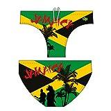 Diapolo Jamaika Professioneller Schwimmhose Badehose Boxerhose Shorts Boxershorts Schwimmshorts Badeshorts für Herren Männer S M L XL XXL (S)