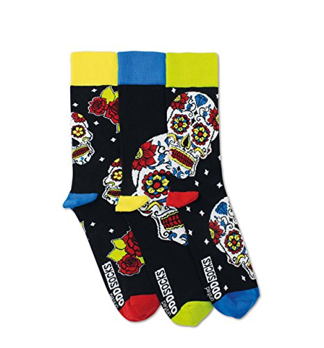 United Oddsocks – WESLEY – Chaussettes – Taille 39–46–3 = 3 Breaks