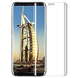 Galaxy S8 Plus Pellicola Protettiva, Samione 3D copertura completa Pellicola Vetro Temperato Galaxy S8 plus [1 pack] Vetro Temperato Screen Protector per Samsung Galaxy S8 plus - trasparante immagine