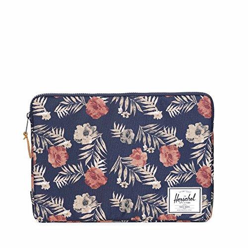 Preisvergleich Produktbild Herschel Anchor Sleeve 15 inch Macbook Peacoat Flora/Blumen Hülle