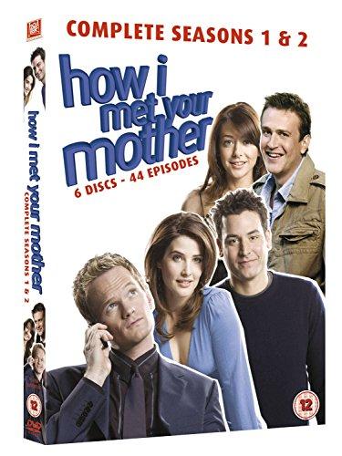 How I Met Your Mother: Seasons 1 And 2 (6 Dvd) [Edizione: Regno Unito] [Reino Unido]