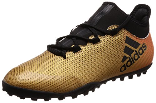 adidas Herren X Tango 17.3 TF Fußballschuhe Gold (Tactile Gold Met. F17/core Black/solar Red)