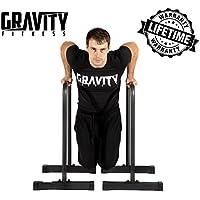 Gravity Fitness XL Crossfit paralelo, calistenia, pesas y barras de inmersión