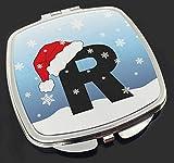 Advanta Group Spiegel mit Aufschrift R mit Weihnachtsmannmütze
