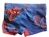 Spiderman Badeboxer (104/110, rot)