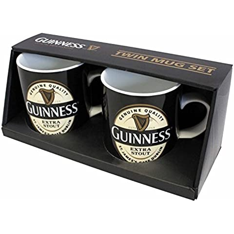 Guinness Etiqueta Taza 2 Paquetes de Mini