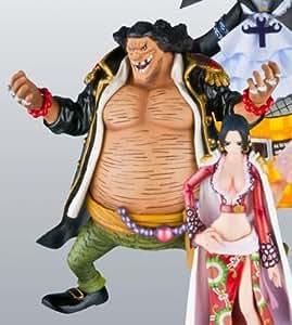 One Piece Chozokei Damashii - 7 Capitaines Corsaires (Shichibukai) - Figurine: Marshall D. Teach alias Barbe Noire 10 cm
