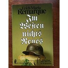 Im Westen nichts Neues [Mass Market Paperback] by Erich Maria Remarque