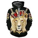 Die besten Freund Hoodies für Jungs und Mädchen - König der Löwen Hoodies Damen Herren Unisex Sweatshirt Bewertungen