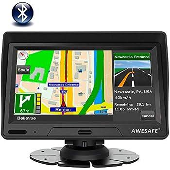 Tobetree MT988 - GPS Coches, 7 Pulgadas Navegador GPS para ...