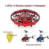 MezzenoAnti-collisione Flying Helicopter Magic Hand UFO Aircraft Sensing Mini...