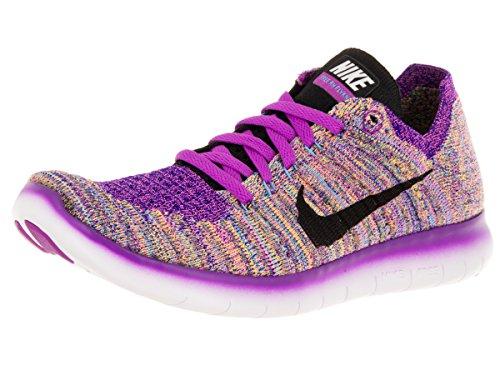 Nike Damen Wmns Free RN Flyknit Laufschuhe, Morado