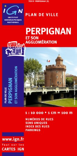 Perpignan: Ign72319 par IGN Institut Géographique National
