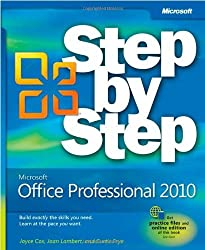 [ MICROSOFT OFFICE PROFESSIONAL 2010 STEP BY STEP BY FRYE, CURTIS D.](AUTHOR)PAPERBACK