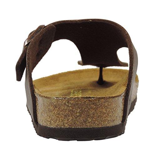 Birkenstock ramses 044053 Damen Zehentrenner Dark Brown