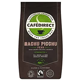Cafedirect Organic Machu Picchu Ground Coffee, 227g