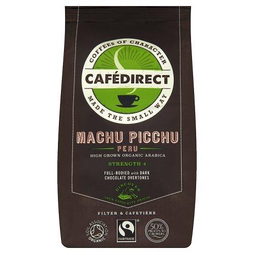Cafedirect Organic Machu Picchu Ground Coffee, 227g 51l83VwCnnL