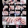 Quaan 14 Farbe Gel Nagel Polieren Nagel Kunst Nagel Gel Polieren UV LED Gel Wasser Basierend Nagel Polieren
