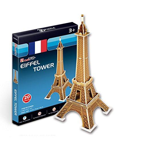 CubicFun - Puzzle en 3D Mini Torre Eiffel