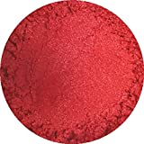 Fiery Red Cosmetic Mica Powder 3g-50g for Soap, Eyeshadow, Bathbombs (10g)