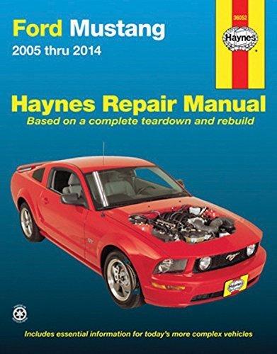 Ford Mustang 2005 thru 2014 (Haynes Repair Manual) by Editors of Haynes Manuals (2015-09-28)