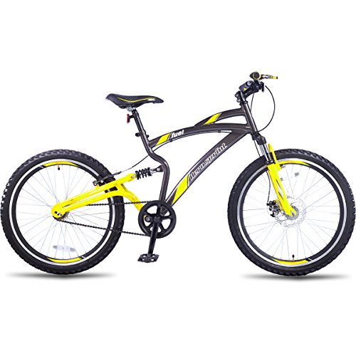 Hero Sprint 26T Fuel Single speed Adult Cycle (Grey/Yellow)