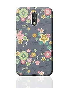 PosterGuy Moto G4 Plus Covers & Cases - Random Flowers Patterns   Designed by: Palna Patel