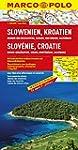 MARCO POLO Länderkarte Slowenien, Kro...