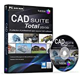 CAD SUITE Total 2D/3D A collection of professional open source CAD software! CAD SUITE Total 2D/3D includes 4 full advanced CAD software programs for 2D/3D drafting, design and modelling.   Create powerful presentations of home designs, technical mod...