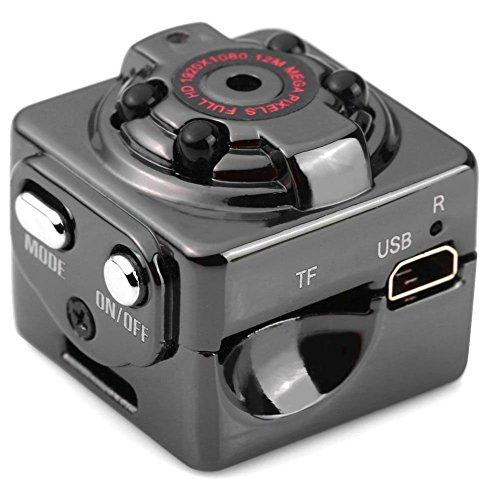 Etbotu Digital Videokamera, DV Kamera, Mini HD 1080 P, mit Infrarot Nachtsicht, Bewegungserkennung Stimme Video Recorder Indoor / Outdoor Sport Home Überwachung