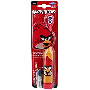 angry birds turbo powered toothbrush red bird. Black Bedroom Furniture Sets. Home Design Ideas