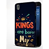 Sony Xperia XA1 Plus Printed Mobile Back Cover/mbamarsal® Kings Are Born In May Printed Cover For Sony Xperia XA1 Plus (W10140)