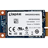 Kingston SMS200S3/480G interne SSD 480GB (6,4 cm (2,5 Zoll) mSATA) schwarz