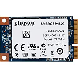 Kingston SSDNow mSATA 480GB Solid State Drive (6Gbps)