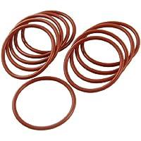 10PCS Silikon O Ring Dichtung Dichtungsring 42mm x 48mm x 3mm