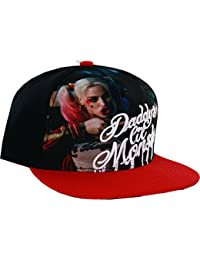 DC Comics Suicide Squad Harley Quinn Sublimated Snapback Baseball-Cap