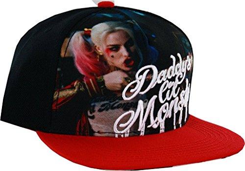 DC Comics Suicide Squad Harley Quinn Sublimated Snapback Baseball-Cap