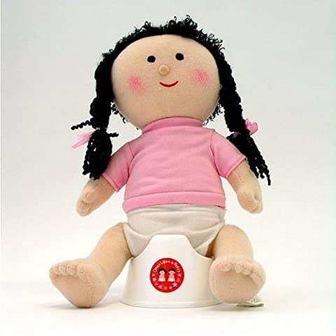 Once Upon A Potty Plush Doll Set With Mini-Potty - Girl by Child Matters