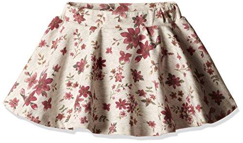 Fox Baby Girls' Skirt (352541249906_Stone Melange_6)