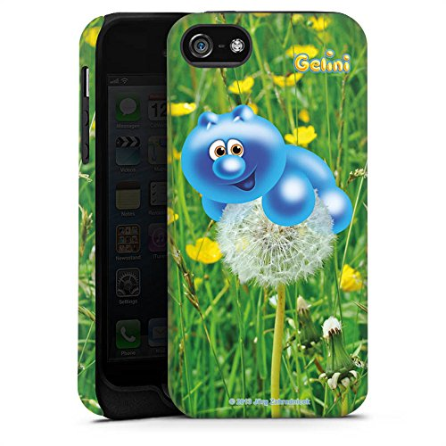 Apple iPhone X Silikon Hülle Case Schutzhülle Gelini Gummibärchen Pusteblume Tough Case matt