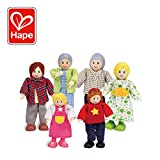 Hape - E3500 - Jeu d'Imitation en Bois - Maison de Poupées - Famille