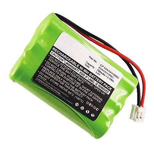 subtel® Qualitäts Akku für AEG Birdy Voice, Audioline 70, Motorola C50 C51 E51, Casio 2500 T2600 (700mAh) GP60AAAH3BMJ, GP65AAAH3BMJ, 3SNAAA60HSJ1, 80-1323-00-00, 89-1323-00-00 Ersatzakku Batterie