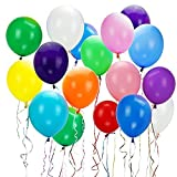 Colorful Mixed Colors Party Ballons Assortiment de Ballons pour fête d'anniversaire de mariage (100PC, ballons Assortis)