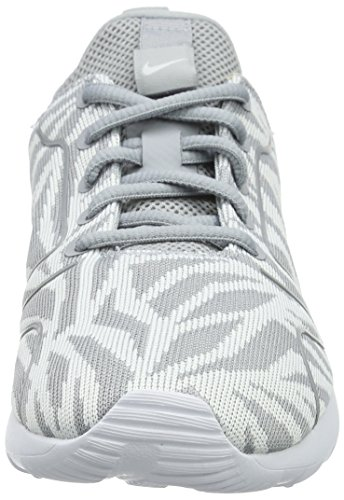 Nike Kaishi 2.0 Kjcrd Print, Chaussures de Running Compétition Femme, M Gris (Wolf Grey/Wolf Grey White)