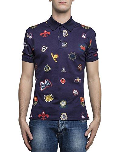 alexander-mcqueen-mens-449494qix324251-blue-cotton-polo-shirt