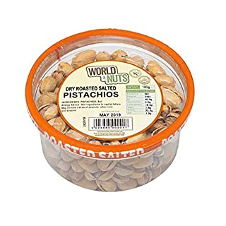 Dry Roasted Salted Pistachios 180 GR