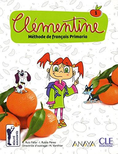 Clémentine - Méthode de français pour les petits - Niveau 1 - Livre + DVD par Emilio Ruiz